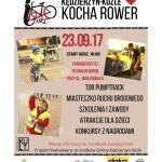 KK kocha rower plakat